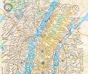 nadis mapa